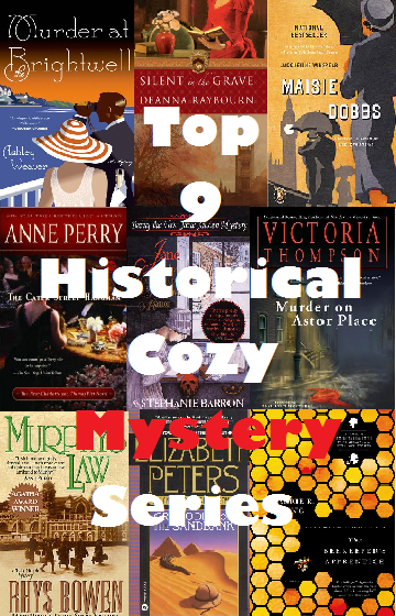 Top Nine Historical Cozy Mystery Series