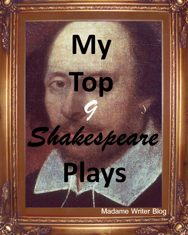 My Top Nine Shakespeare Plays