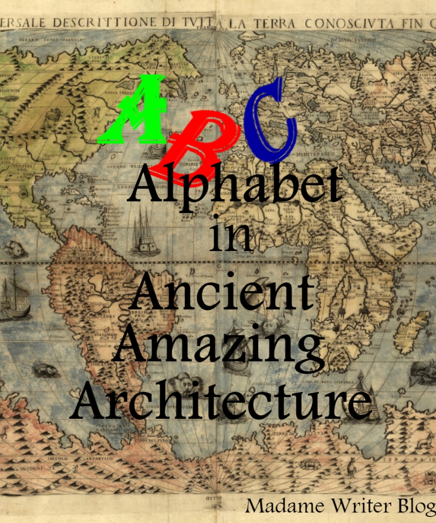 Alphabet in Ancient Amazing Architecture