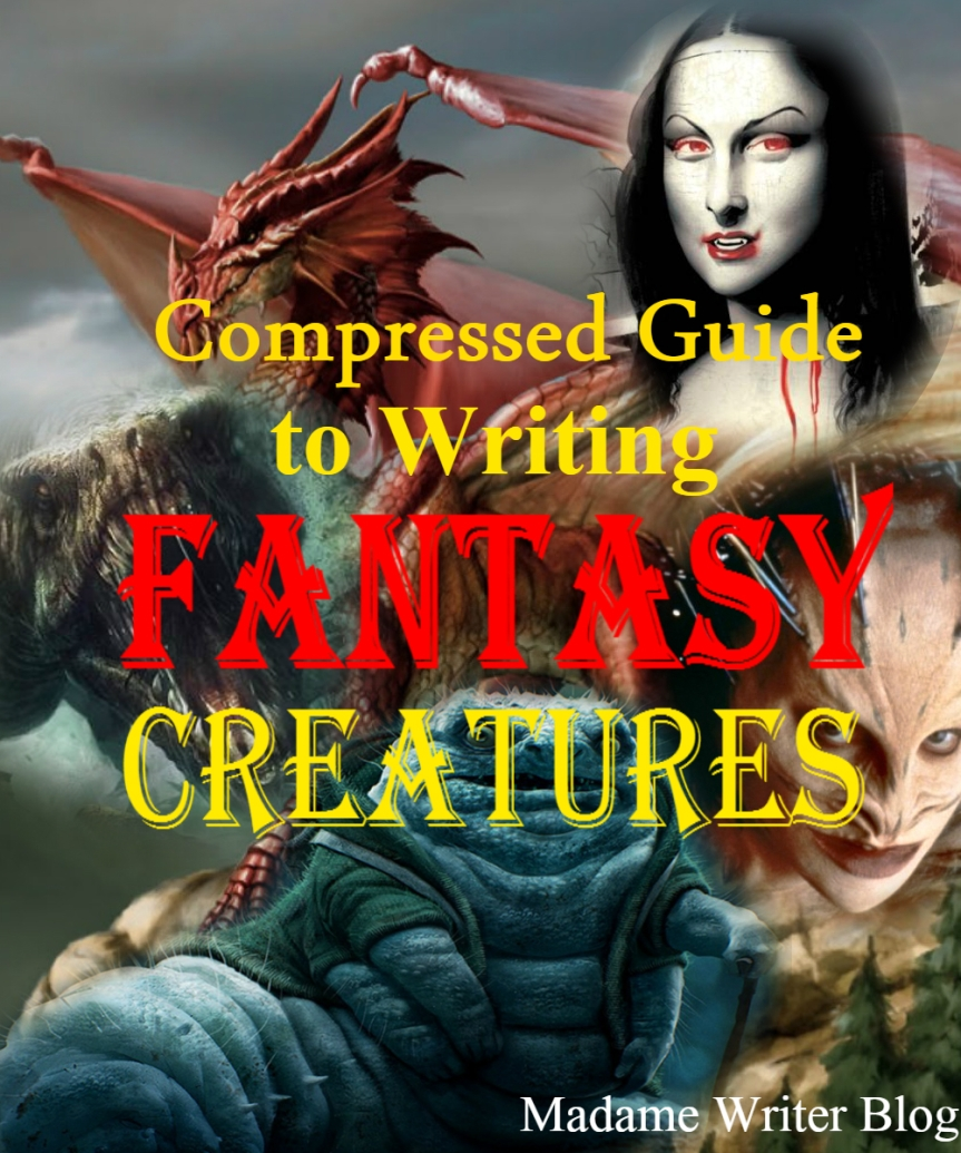 Compressed Guide to Writing Fantasy Creatures