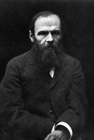 1. Fyodor Dostoyevsky
