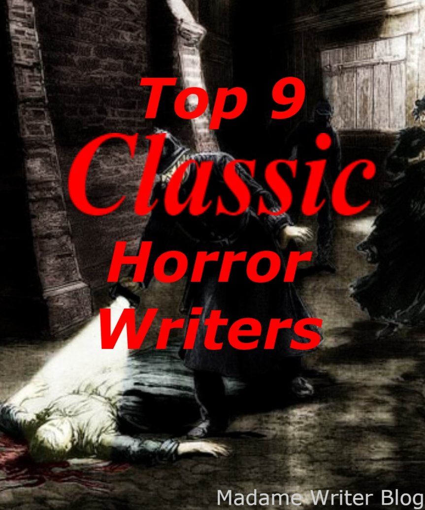 Top 9 Classic Horror Writers