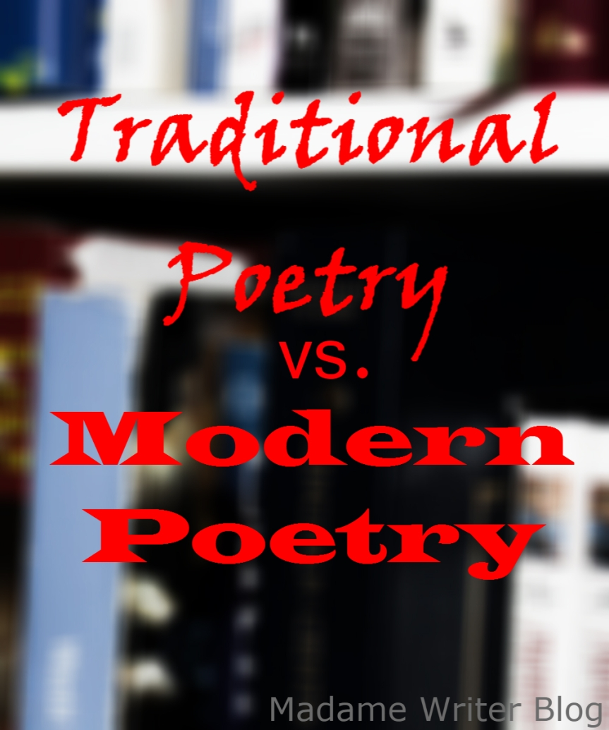 Traditional Poetry vs. Modern Poetry