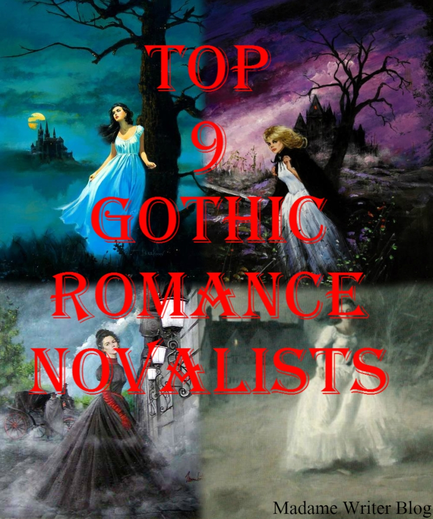 Top 9 Gothic RomanceNovelists