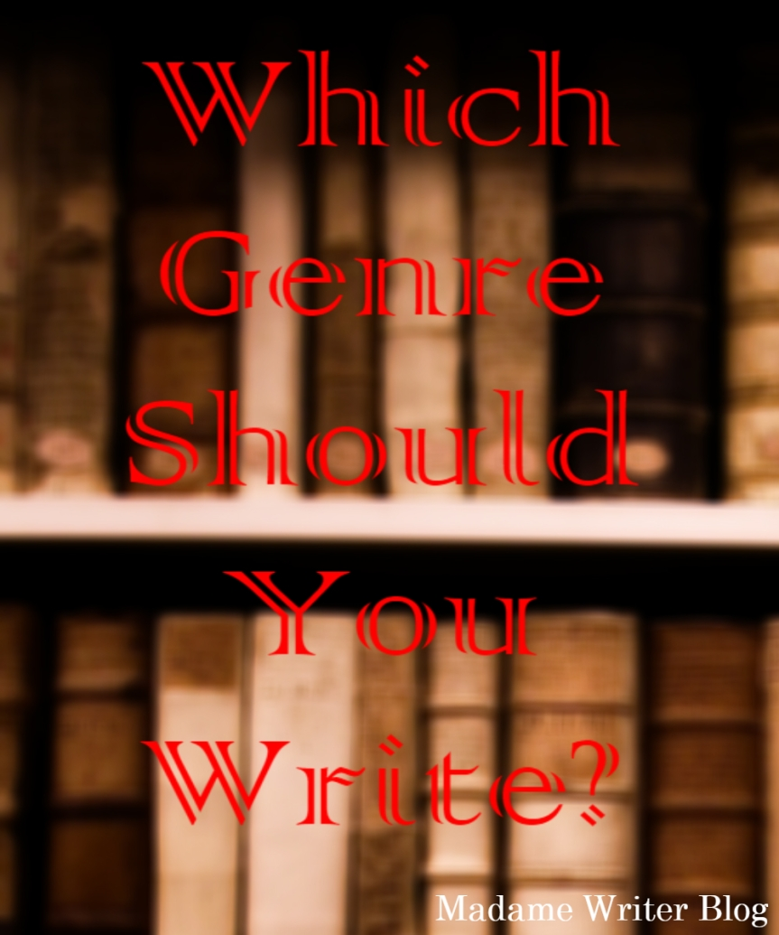 Which Genre Should YouWrite?