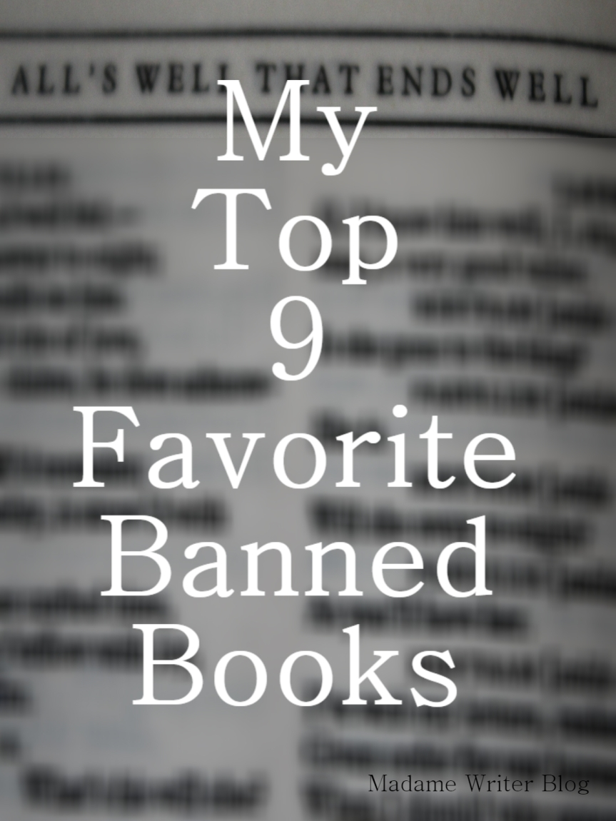 My Top 9 Favorite Banned Books
