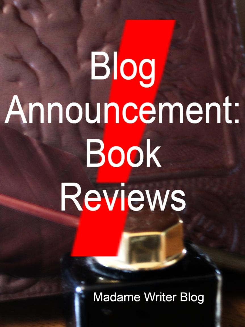 Blog Announcement: Book Reviews &NaNoWriMo