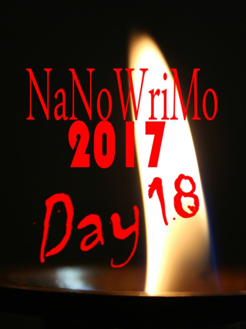 NaNoWriMo Day 18