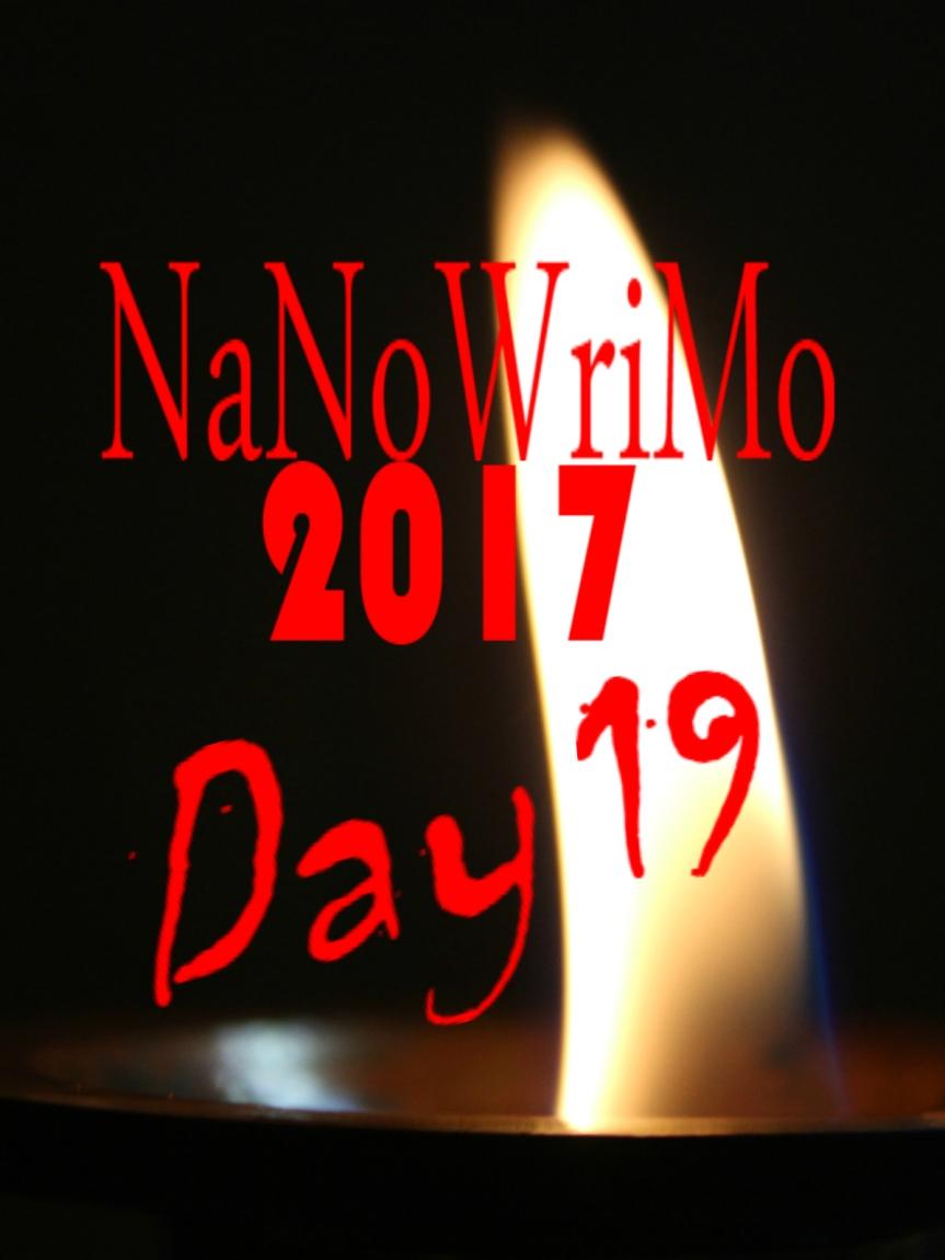 NaNoWriMo Day 19
