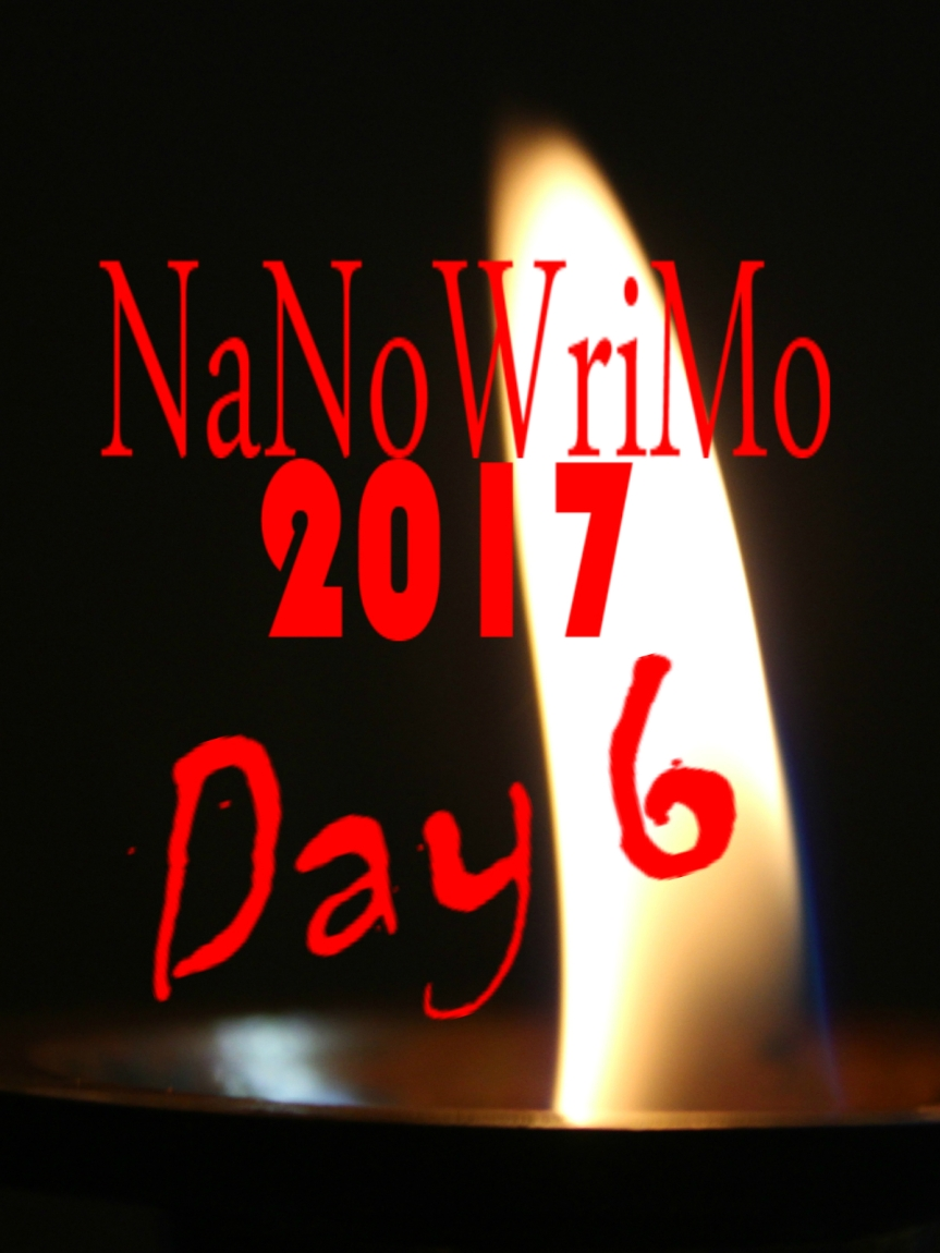 NaNoWriMo Day 6