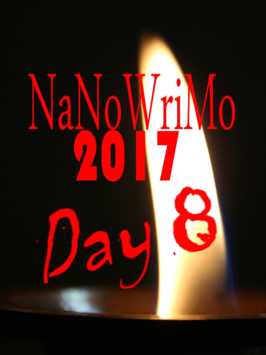 NaNoWriMo Day 8