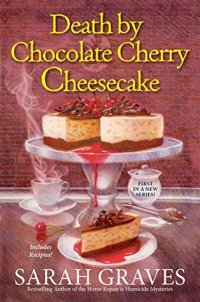 8. Death by Chocolate Cherry Cheesecake