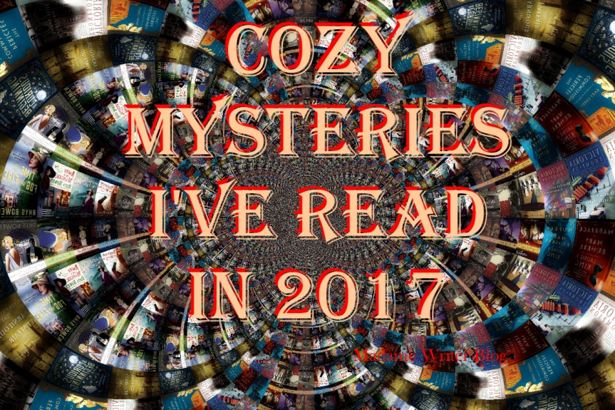 Cozy Mysteries I've Read in 2017