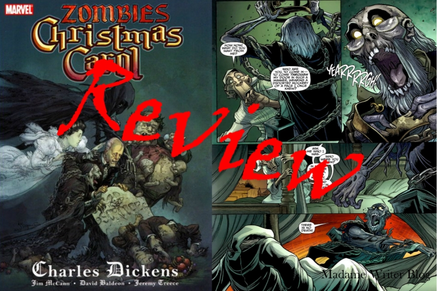 Book Review: A Zombies Christmas Carol by JimMcCann