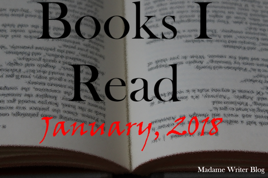 Books I Read January, 2018