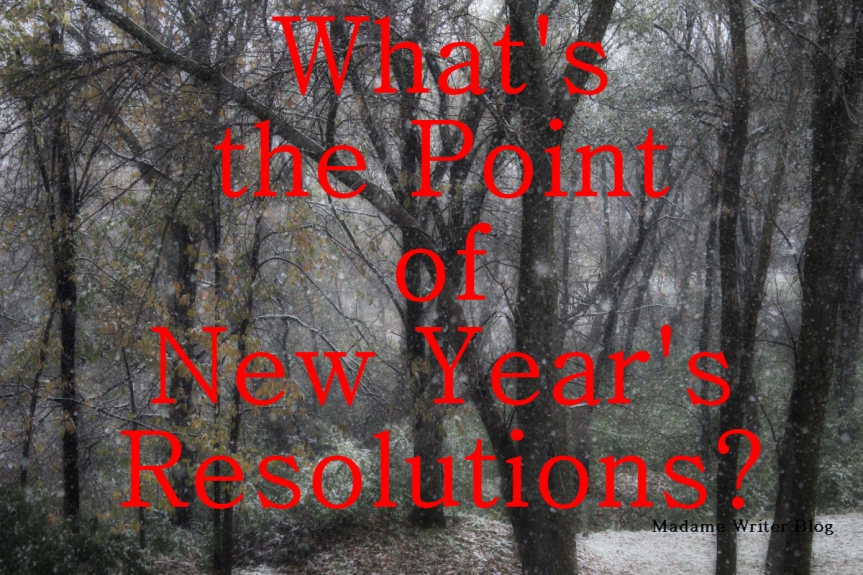 What's the Point of New Year's Resolutions?