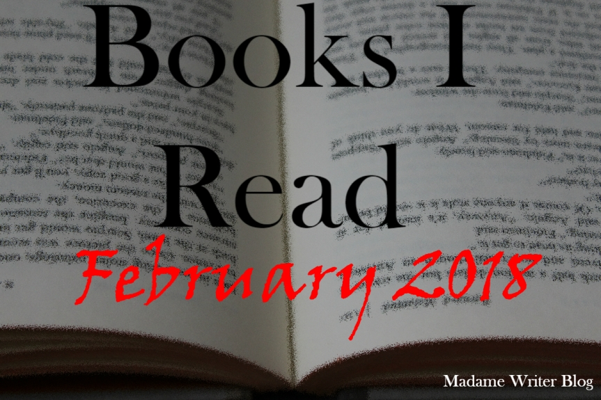 Books I Read February, 2018