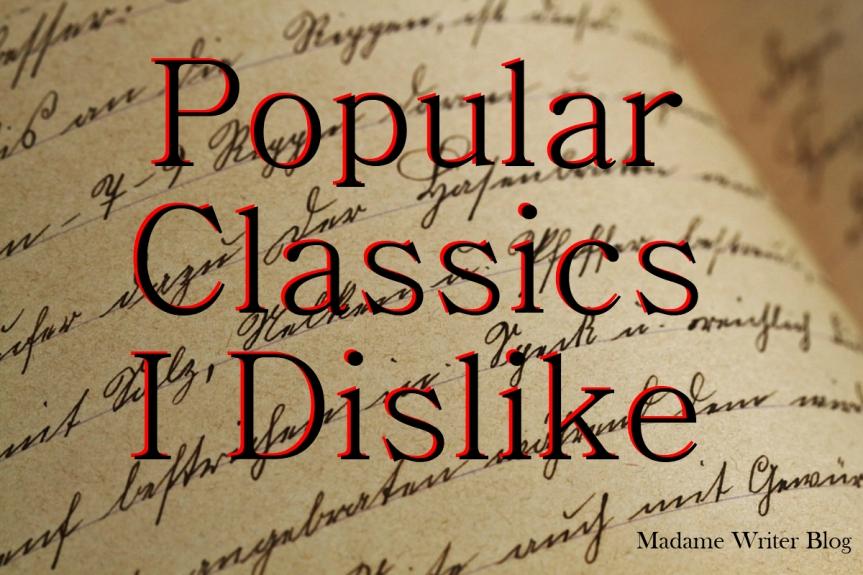 Popular Classic Books IDislike