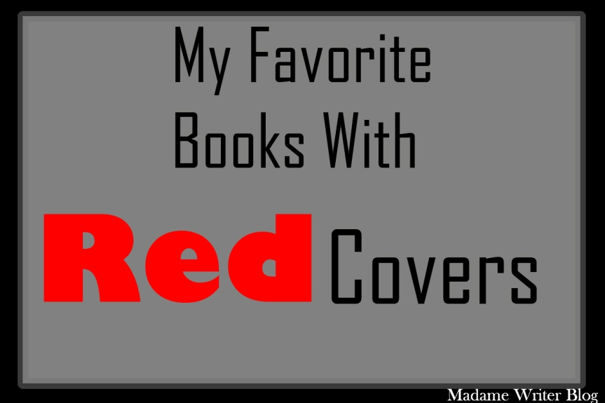 My Favorite Book With…Red Covers