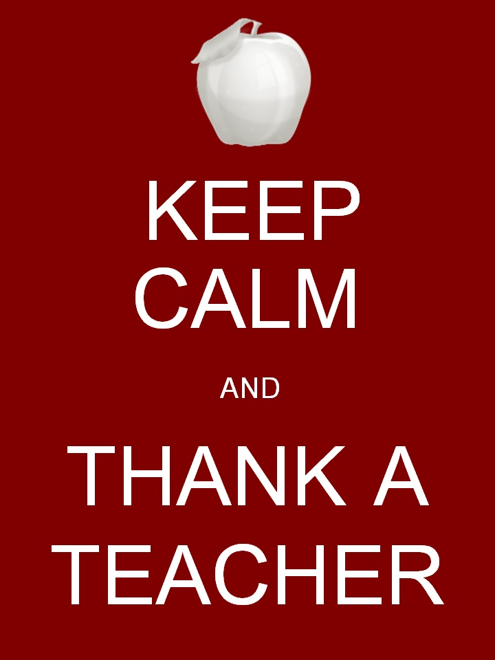 Thank You, Teacher