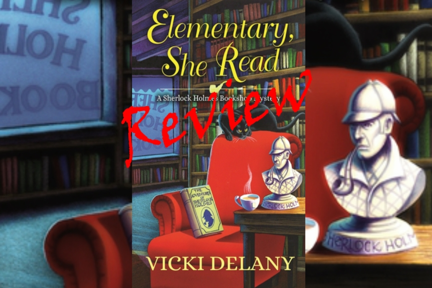Book Review: Elementary, She Read by Vicki Delany