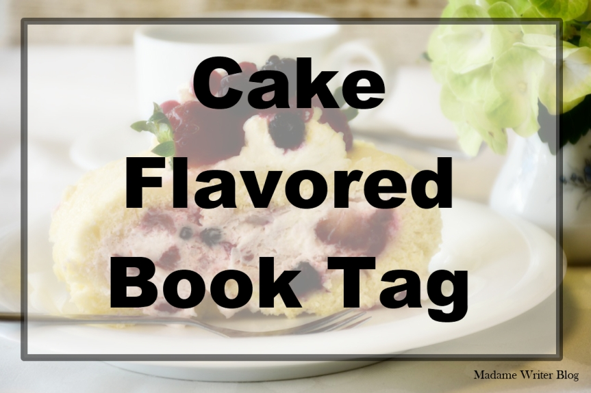 Cake Flavored Book Tag