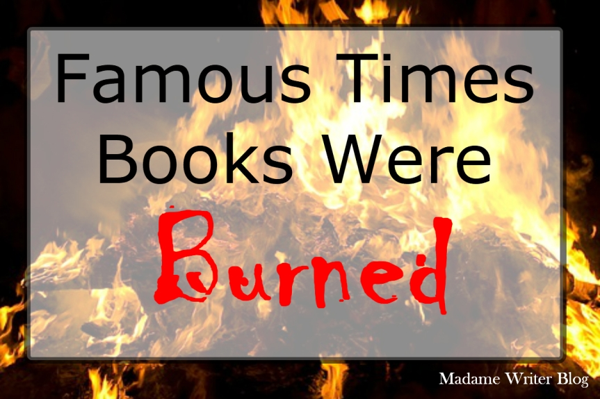 Famous Times Books Were Burned