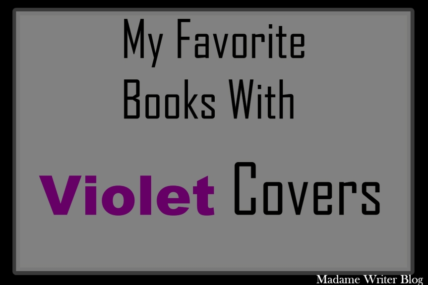 My Favorite Books With Violet Covers