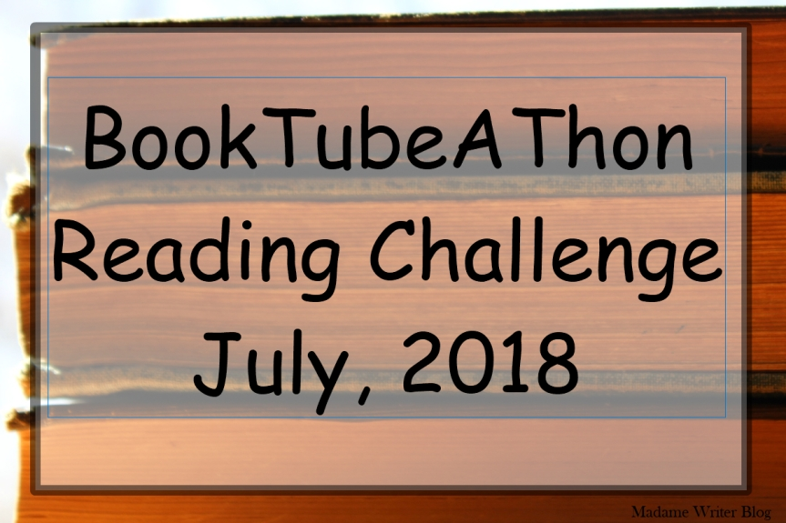 BookTubeAThon Reading Challenge July, 2018