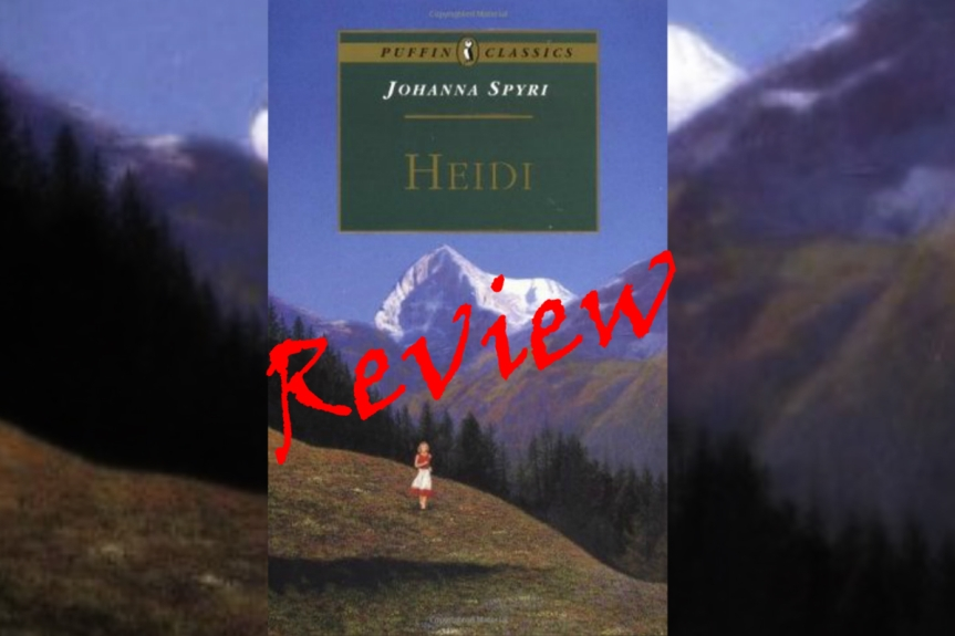 Book Review: Heidi by JohannaSpyri