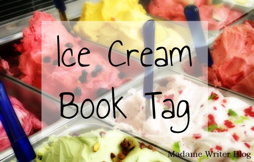 Ice Cream Book Tag