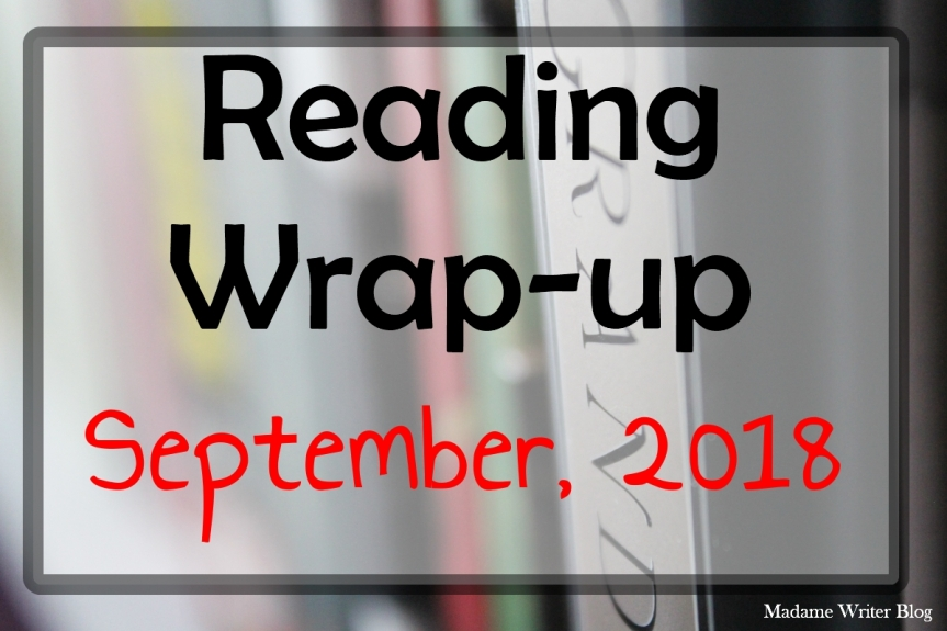 Reading Wrap-Up September, 2018