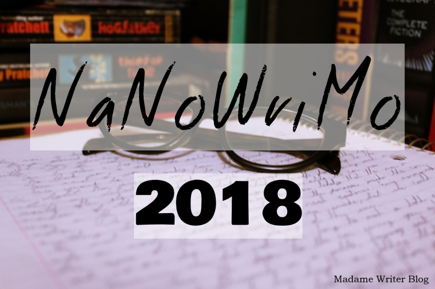 NaNoWriMo, 2018: Day 1 (Thank you, readers!)