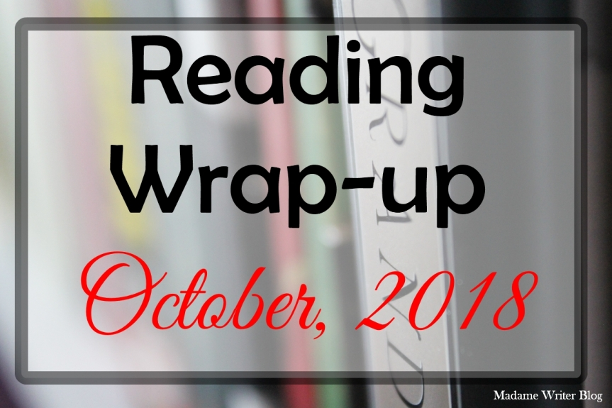 Reading Wrap-up October, 2018
