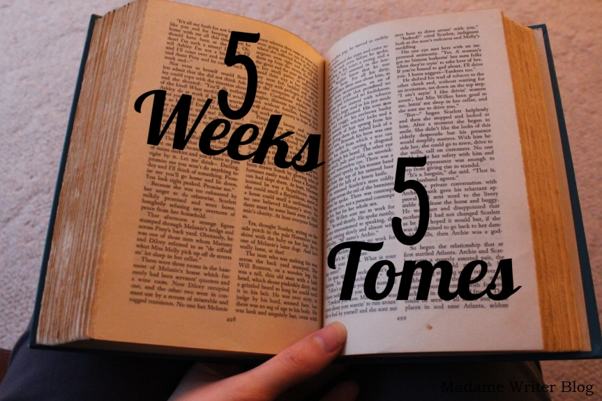5 Weeks, 5 Tomes: Week 5 Update