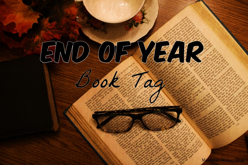 End of Year Book Tag2018