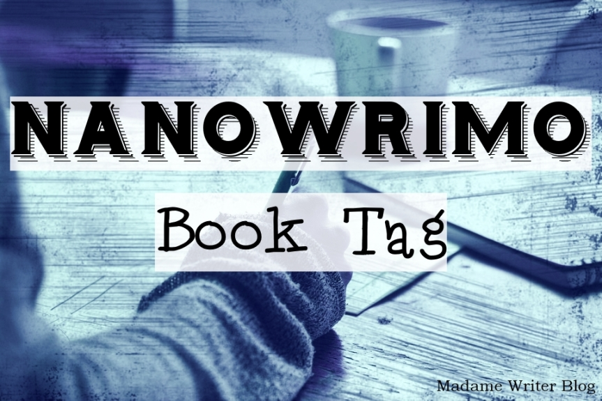 NaNoWriMo Book Tag