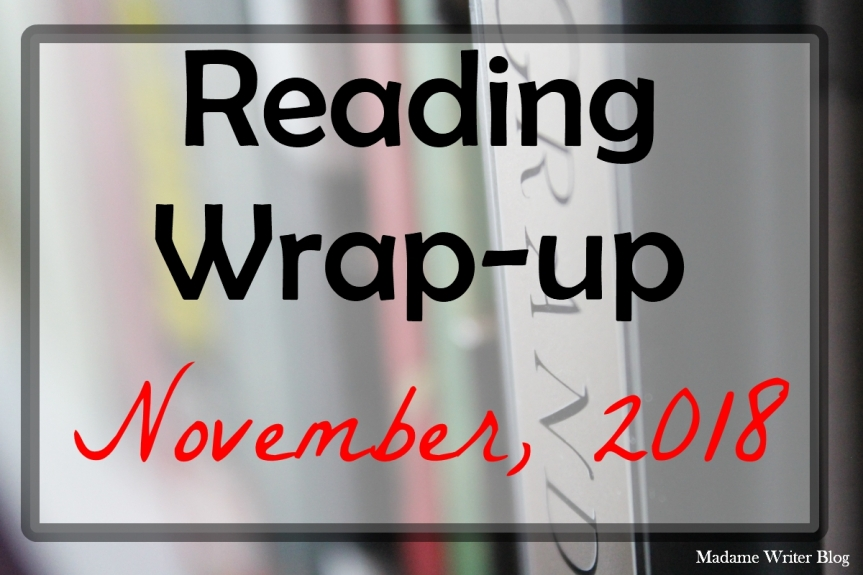 Reading Wrap-Up: November, 2018