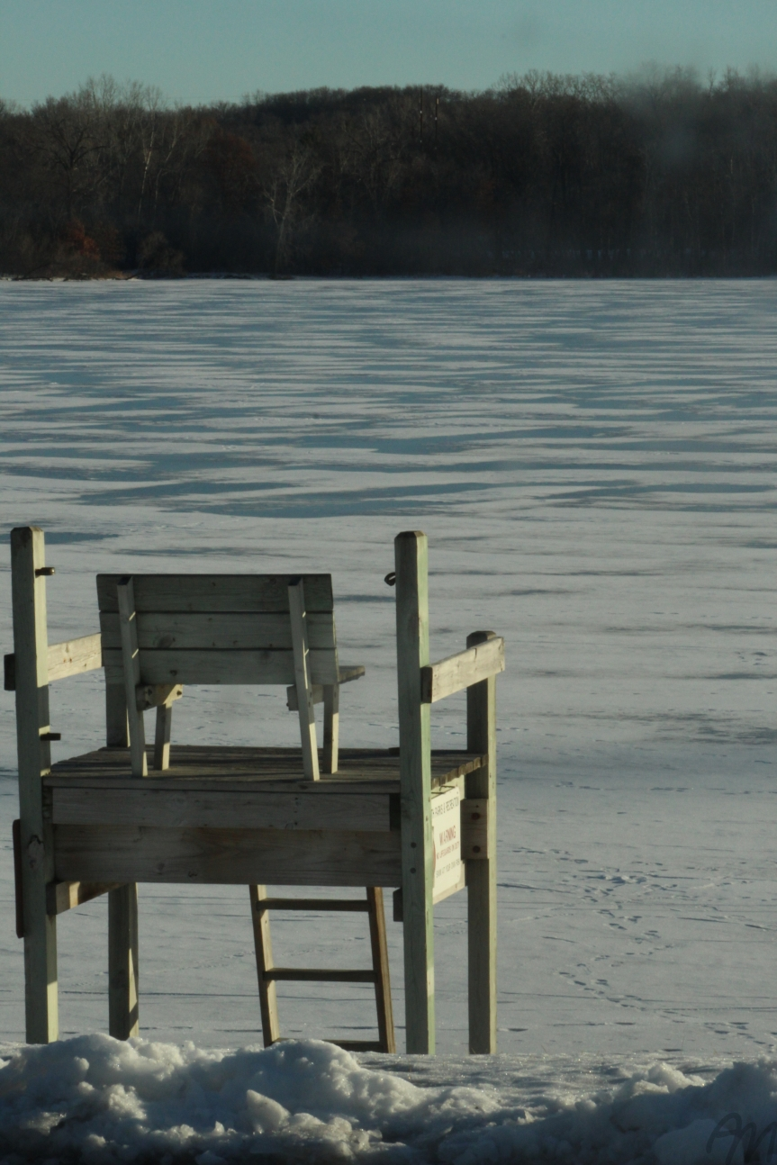 Photography Friday: A ChilledLifeguard