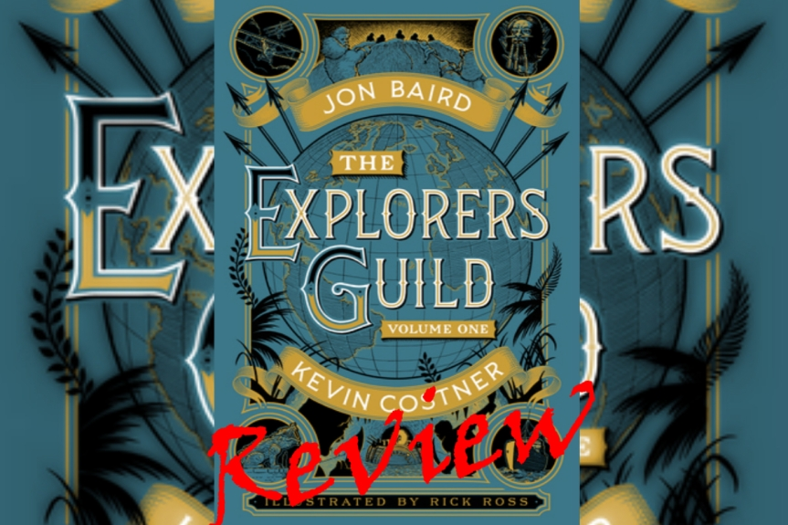 Book Review: A Passage to Shambhala (The Explorers Guild #1) by Jon Baird and Kevin Costner