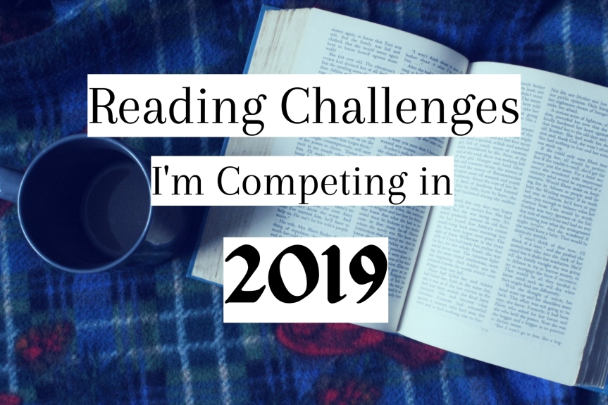 Reading Challenges I'm Competing in 2019