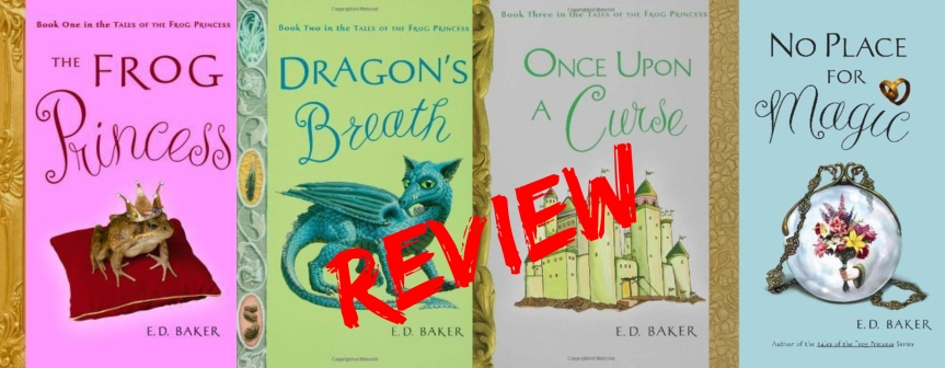 Throwback Book Series Review: The Frog Princess by E.D. Baker