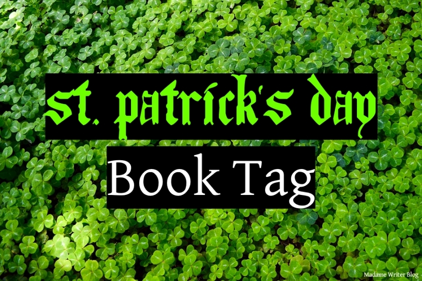 St. Patrick's Day Book Tag