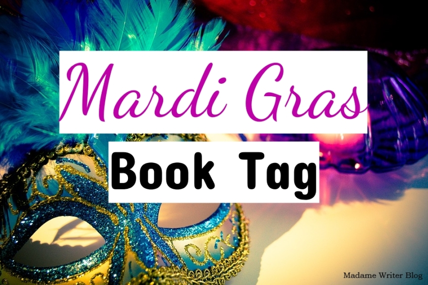 Mardi Gras Book Tag