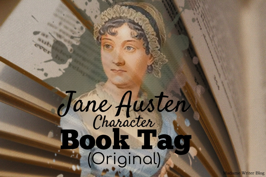 Jane Austen Character Book Tag(Original)