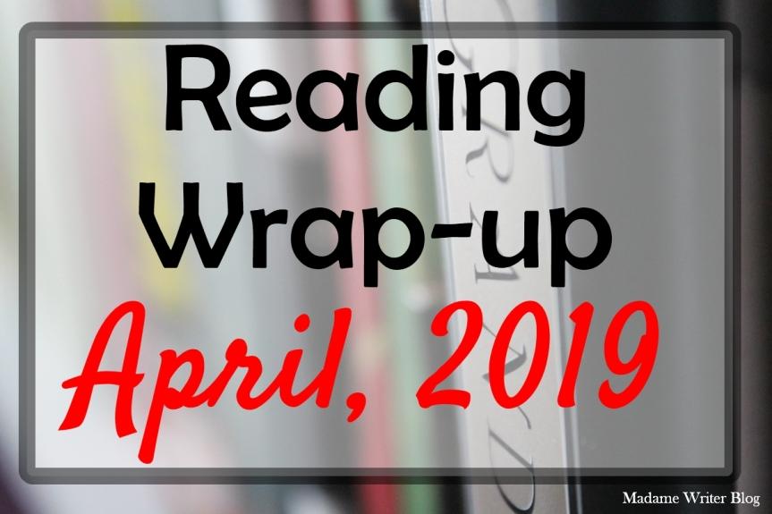 Reading Wrap-up: April,2019