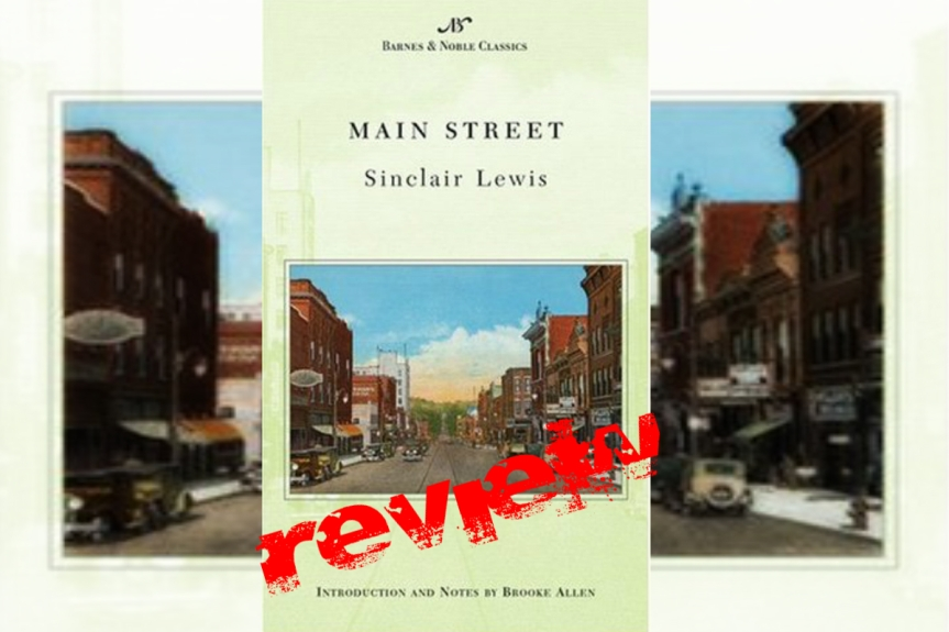 Book Review: Main Street by Sinclair Lewis