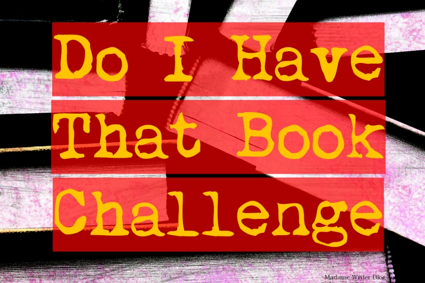 Do I Have That Book Challenge