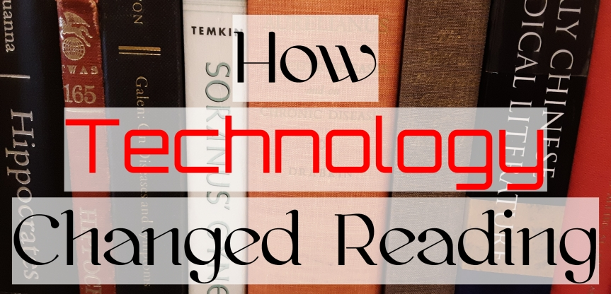 How Technology Changed Reading