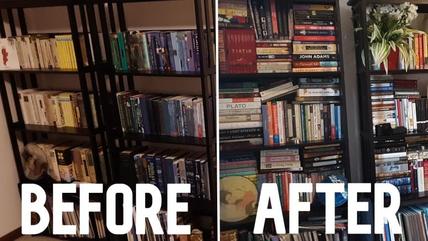 Organizing My Bookshelf